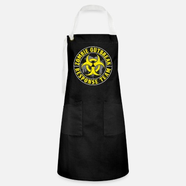 Zombie Hunter The Zombie Outbreak - Response Team - Artisan Apron