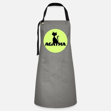 Name Day Agatha Name First name Name Motif name day - Artisan Apron