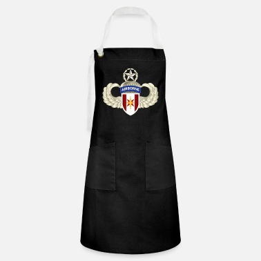 T Shirt Army 44th Medical Brigade w Master Air - Artisan Apron