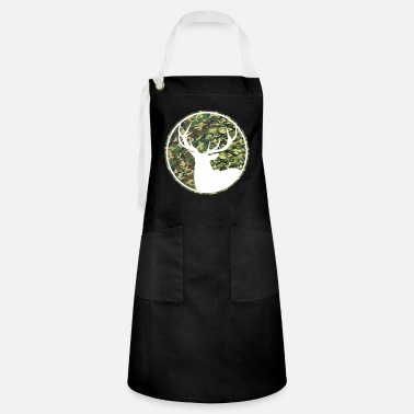 Deer Hunting Patch Deer Hunting Camouflage Patch - Artisan Apron