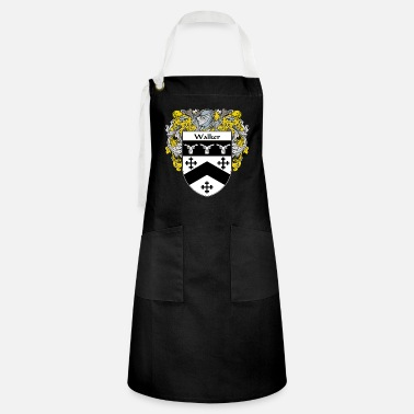 Family Crest wallace_coat_of_arms_mantled - Artisan Apron