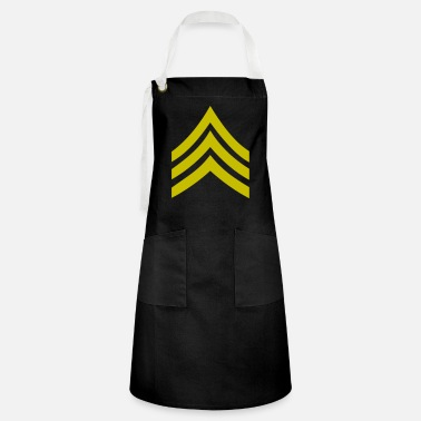 Army Sergeant army rank patch sergeant - Artisan Apron