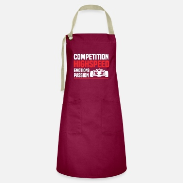 Drive-go-by-car Motor Race Fan Highspeed Car - Artisan Apron