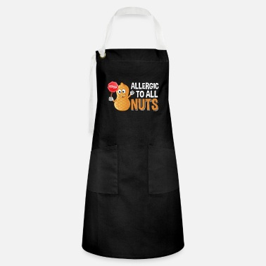 Peanut Allergy Cute Peanut Allergy Kids Awareness Food Allergies - Artisan Apron