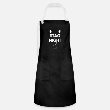 stag party at stag night - Artisan Apron