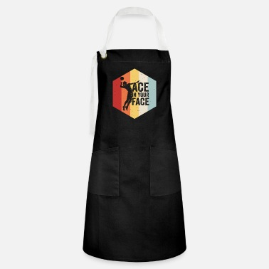 Volley Volleyball Retro Vintage Design - Artisan Apron