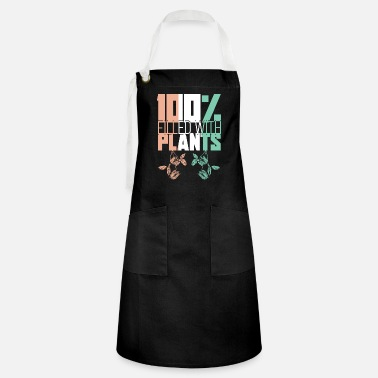 Bio Filled with plants - Artisan Apron