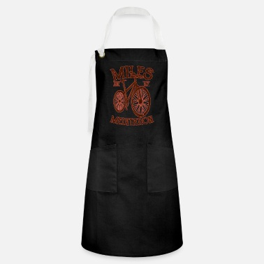 Electricity MY MEDITATION Funny Cycling Gift Mountain Biker - Artisan Apron