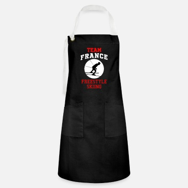 Freestyle Team France Freestyle Skiing Winter Sports Gift - Artisan Apron
