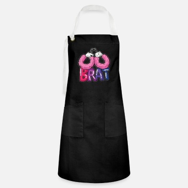 Ageplay BRAT Fussy Handcuffs DDLG Ageplay BDSM Roleplay - Artisan Apron