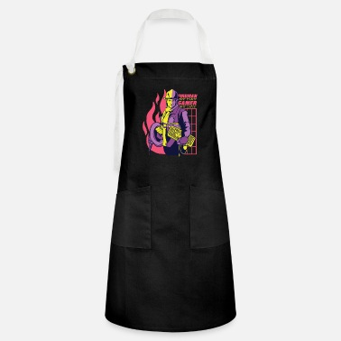 Multiplayer Fireman By Day Gamer By Day - Artisan Apron
