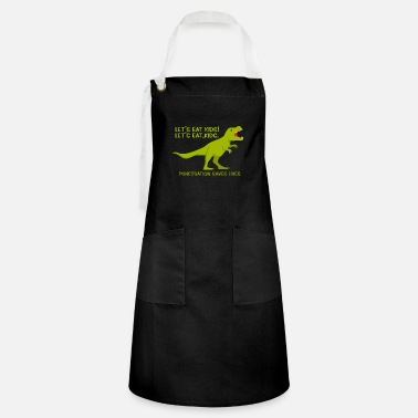 Letter-sign Let's Eat Kids Punctuation Save Perfect Grammar Te - Artisan Apron