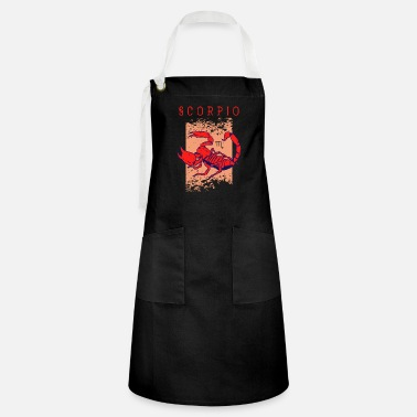 Zodiac Scorpio Birth Sign Astrology Horoscope Scorpio - Artisan Apron