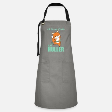 Ring I Huller Cute Fox Funny Dancing Foxes - Artisan Apron