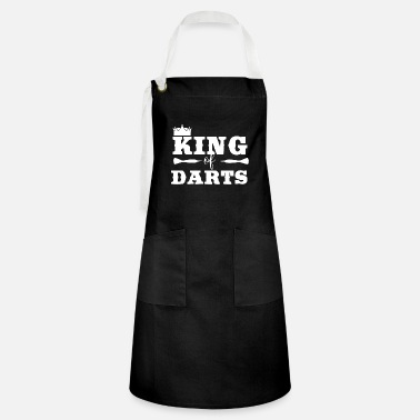 Bar Pub Darts King Of Darts Darts Player Shirt Tee - Artisan Apron