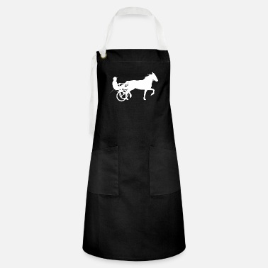 Equitation Horses Riding Harness Racing Rider Equitation - Artisan Apron