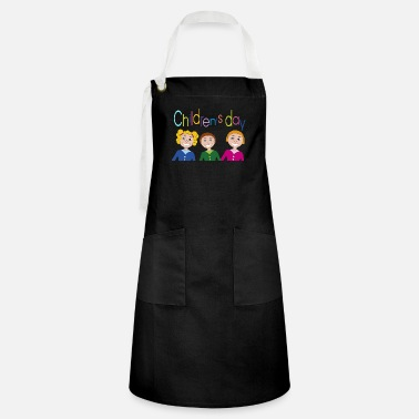 Childrens Day children's day - Artisan Apron