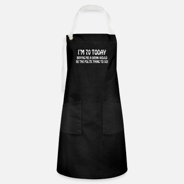 70th 70th BIRTHDAY - Artisan Apron