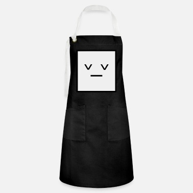 Square Square, it is a Square- Geometric Square sad - Artisan Apron