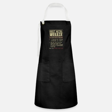 Sheet Sheet Metal Worker Dictionary Term - Artisan Apron