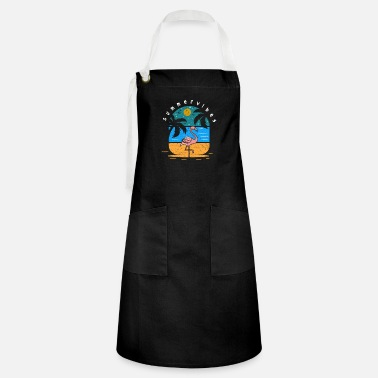 South Funny Summer Sun Sunshine Beach Vintage Gift Idea - Artisan Apron