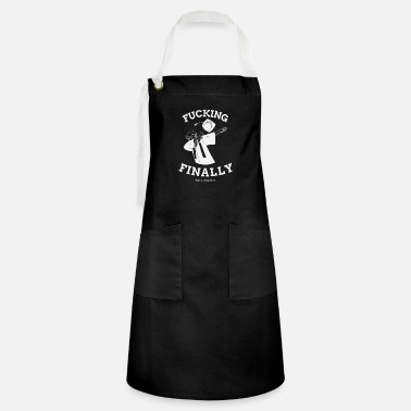 Rude Fcking Finally - Rude Seniors 2020 Shirt - Artisan Apron
