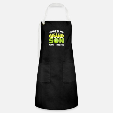 Yell Tennis - That's My Grandson Out There - Artisan Apron