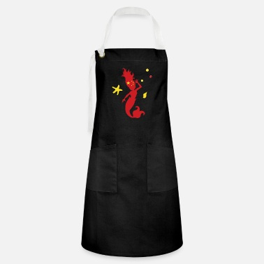 Chinese Chinese Mermaid - Artisan Apron