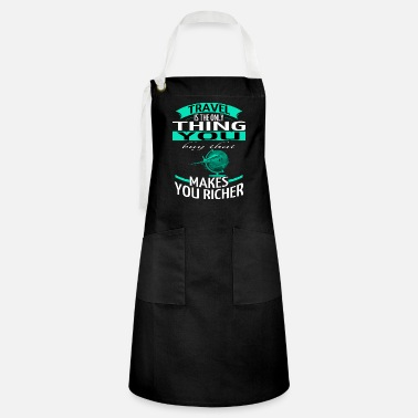 Travel Agent camp trip motivation adventurous - Artisan Apron