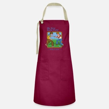 Smiffys my first knife fight - Artisan Apron