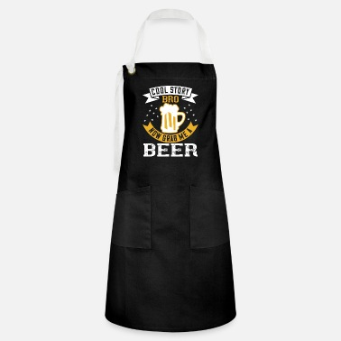 Lover Cool story bro now grab me a beer - Artisan Apron