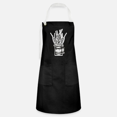 Barley Beer and barley - Artisan Apron