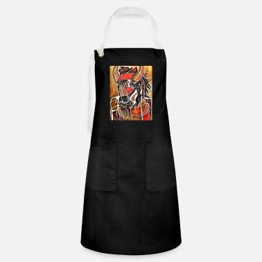 Art Bison man - Artisan Apron