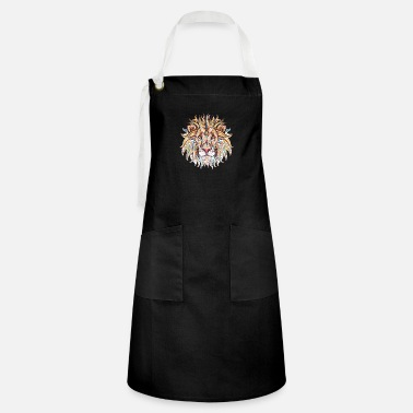 Ethnic Tribal Lion - Artisan Apron