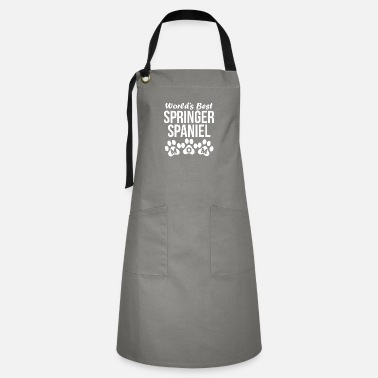 Springer Spaniel Mom World's Best Springer Spaniel Mom - Artisan Apron