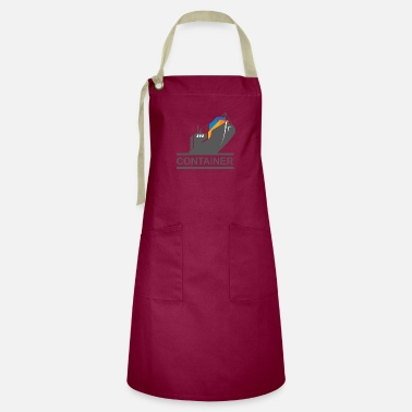 Container Container Ship - Artisan Apron