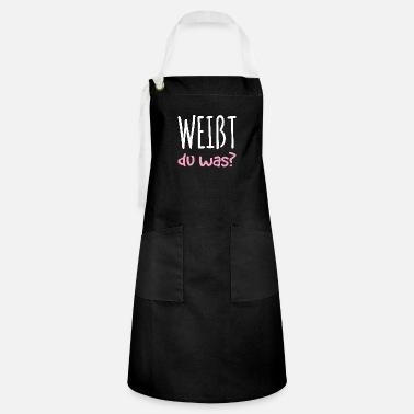 Siblings You know what pregnancy baby gift - Artisan Apron