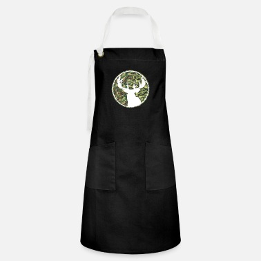 Deer Hunting Patch Deer Hunting Camouflage Patch 2 - Artisan Apron