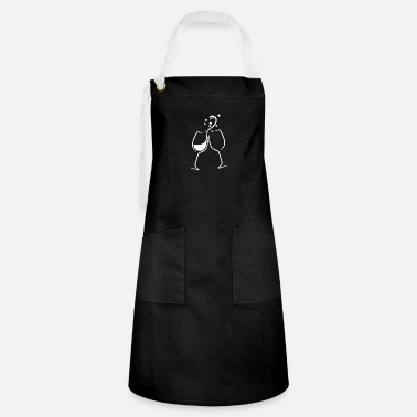 Red Wine glasses - Artisan Apron