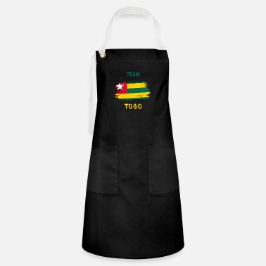 Country Colors Team Togo Flags Design / Gift - Artisan Apron