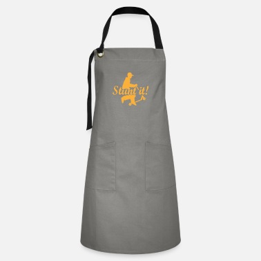 Scooter Stunt it scooter sport hobby gift - Artisan Apron