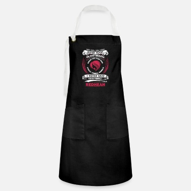 Miscellaneous Red head - I never said I was perfect red head tee - Artisan Apron