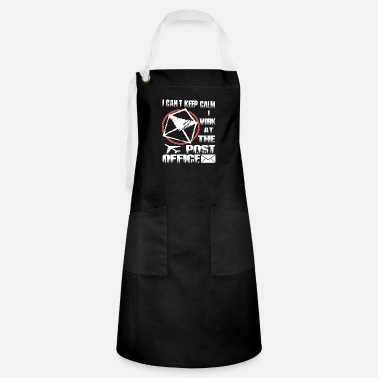 Office I Work At The Post Office T Shirt - Artisan Apron