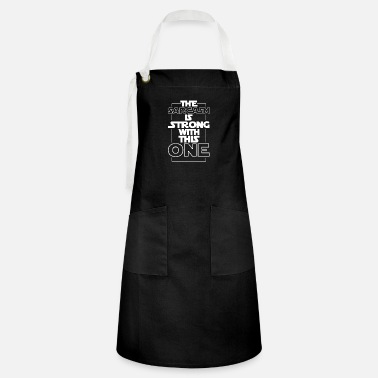 Fantasy The Sarcasm Is Strong With This One Movie Design - Artisan Apron