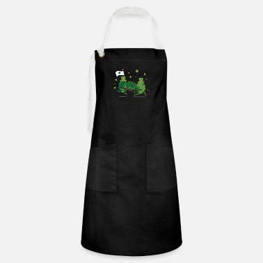 Day Funny St Patricks Day Leprechaun Party gift Paddy - Artisan Apron