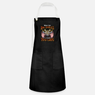 Master When the DM Smiles It's Too Late Funny Gaming - Artisan Apron
