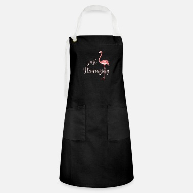 Different Flamazing Flamingo beautyful long legged present - Artisan Apron