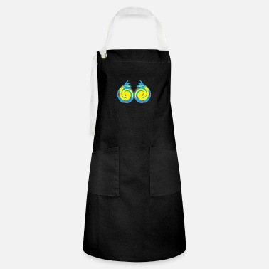 Graphic Art graphics art - Artisan Apron