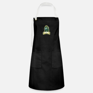 World Champion logo inspired by a lol champion - Artisan Apron
