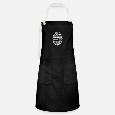 Birthday 60th birthday designs - Artisan Apron